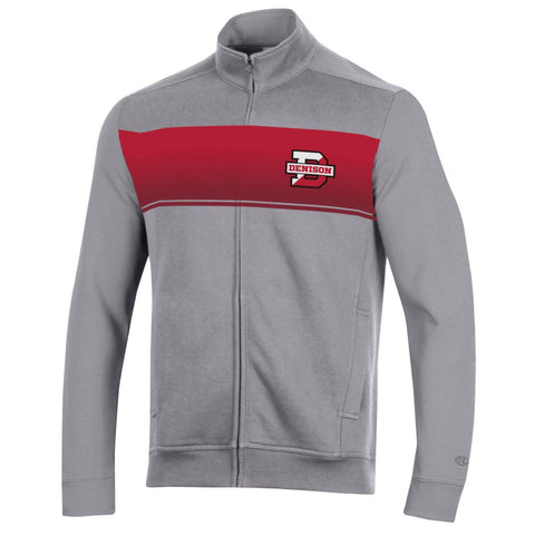 Champion Super Fan Full Zip Jacket-unisex-sweatshirts-Shop Denison