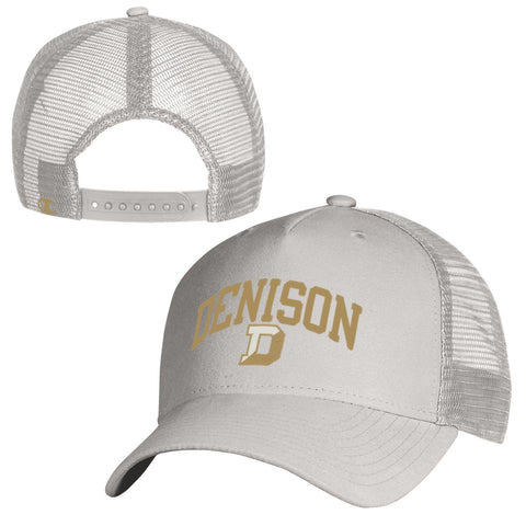 Champion Suede Trucker Hat-hats-baseball-Shop Denison