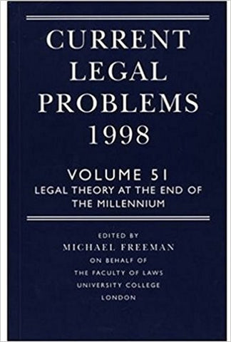 Current Legal Problems 1998: Legal Theory at the End of the Millennium-gifts-books-Shop Denison