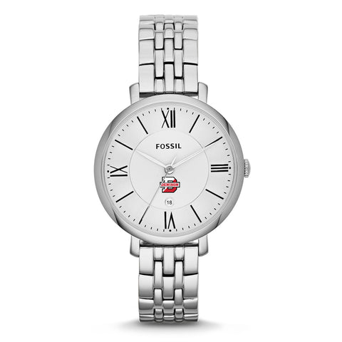 Ladies Fossil Watch Silver-accessories-jewelry-Shop Denison