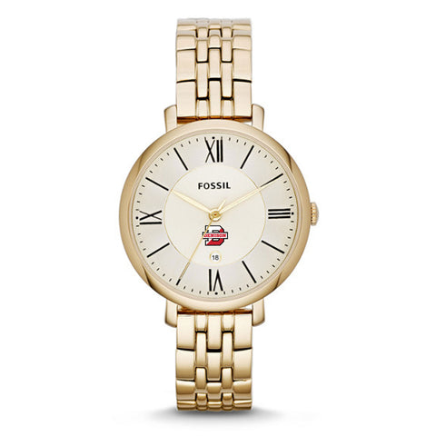 Ladies Fossil Watch Gold Tone-accessories-jewelry-Shop Denison