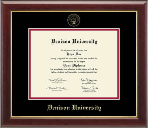 Embossed Seal Diploma Frame-gifts-frames-Shop Denison