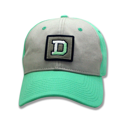 Hat with Split D Patch-hats-baseball-Shop Denison