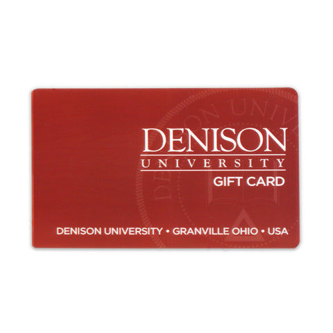 Denison University $25.00 Bookstore Gift Card-gifts-card-Shop Denison