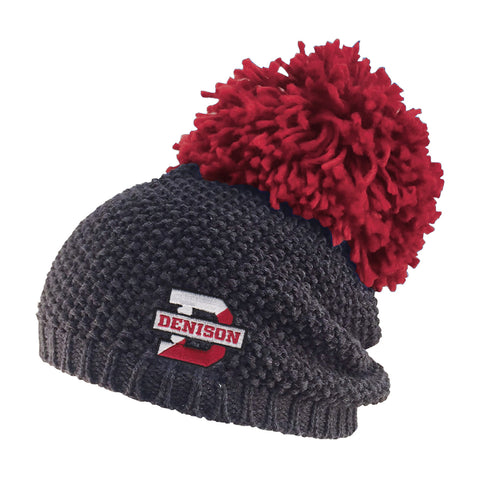 Rally Knit Hat with Pom-hats-knitted-Shop Denison