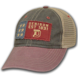 Hat and Rolled Tee Combo-hats-baseball-Shop Denison