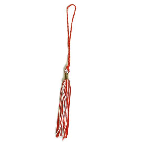Tassel Red/White-Shop Denison
