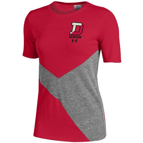 Women's Collide Under Armour TriBlend T-shirt-women-tshirts-Shop Denison