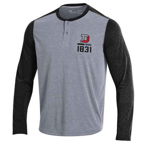 Under Armour Threadborne Henley-men-tshirts-Shop Denison