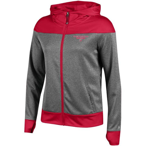 Women's Convergence Full Zip Hoodie-women-sweatshirts-Shop Denison