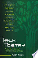 Talk Poetry: Poems and Interviews with Nine American Poets-gifts-books-Shop Denison