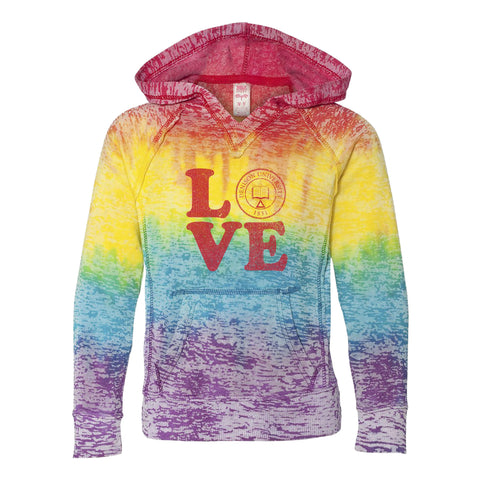 Youth Rainbow Seal Hood-youth-apparel-Shop Denison