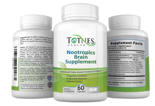 Enhance Memory & Clear Thinking - Nootropic Brain Supplement