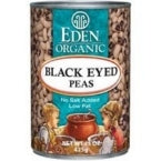 Eden Foods Black Eyed Peas (12x15 Oz)