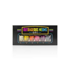 Outrageous Neons Mini Nail Lacquer Set 6pcs