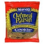 Nana's Cookies Cookie Oatmeal Raisin Cookie (12x3.5 Oz)