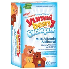 Hero Nutritionals Yummy Bears Multi-Vitamin & Mineral Sugar Free (60 CT)