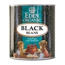 Eden Foods Black Beans (Turtle) (12x29 Oz)
