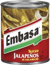 Embasa Jalapeno, Nacho Sliced (12x11 Oz)