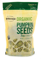 Woodstock Organic Pumpkin Seeds (8x11 Oz)
