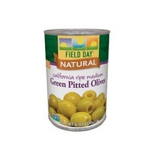 Field Day Ripe Green Olives (12x6Oz)