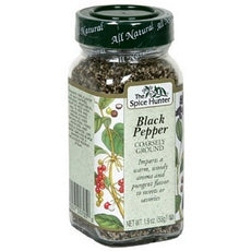 Spice Hunter Course Black Pepper (6x1.9Oz)