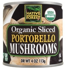 Native Forest Organic Sliced Portobello Mushrooms (12x7Oz)