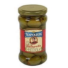 Napoleon Jalapeno Stuffed Olives (12x6.5Oz)