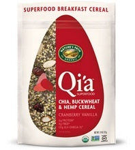 Nature's Path Qi'a Superfood Cranberry Vanilla Chia, Buckwheat & Hemp Cereal (10x7.94 Oz)