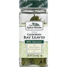 Spice Hunter Bay Leaves California Whole  (6x0.14Oz)