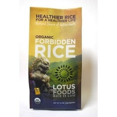Lotus Foods Rice, Forbidden (6x15Oz)