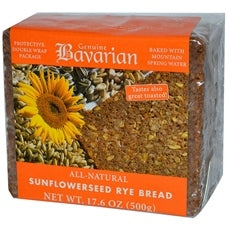 Bavarian Breads Sunflower Seed Rye Bread (6x17.6Oz)
