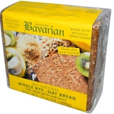 Bavarian Breads, Whole Rye-Oat Bread (6x17.6Oz)