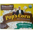 Newman's Own Organics Microwave No Butter, No Salt Pop's Corn (12x3x2.8 Oz)