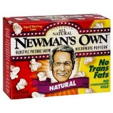 Newman's Own Natural Flavor Popcorn (12x3PK )