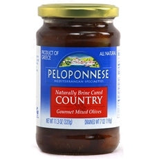 Peloponnese Country Mixed Olives (6x7Oz)