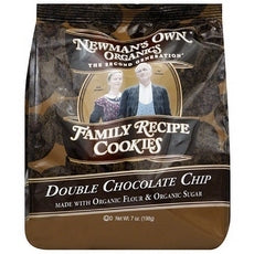 Newman's Own Organics Double Chocolate Chip Cookies (6x7Oz)