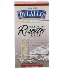 De Lallo Risotto Aborio Rice (12x17.6Oz)