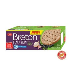 Breton Dare Black Bean Onion & Garlic (6x4.2Oz)