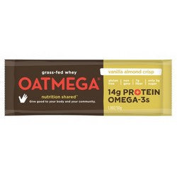 Oatmega Bar Vanilla Almond (12x1.8Oz)