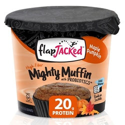 FlapJacked Mighty Muffins Maple Pumpkin (12x1.94 OZ)