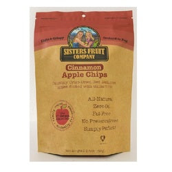 Sisters Fruit Company Cinnamon Apple Chips  (12X2.25 OZ)