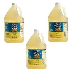 Four Monks White Wine Vinegr (4x128OZ )