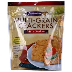 Crunchmaster Multi Grain White Cheddar Crackers (12x4.5 OZ)