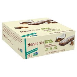 ThinkThin Coconut Chocolate Mixed Nuts Crunch Bar  (10x1.41 OZ)