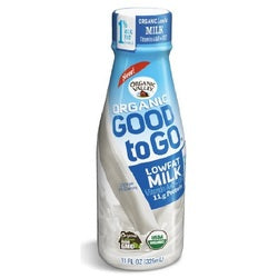 Organic Valley Good To Go Lowfat Milk 1% Original (12X11 OZ)