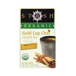 Stash Organic Gold Cup Chai Tea (6x18 BAG )