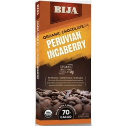 Bija Peruvian Incaberry Chocolate Bar  (10x3.17 OZ)