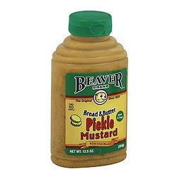 Beaver Mustard Bread & Butter Pickle (6x12.5 OZ)