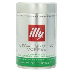 illy Decaf Medium Roast Ground Coffee  (6x8.8 OZ)